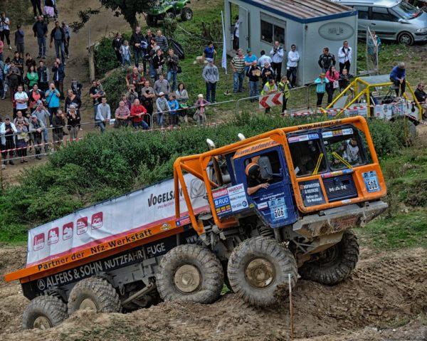 Championnat d'Europe Trial Camion à Thiembronne