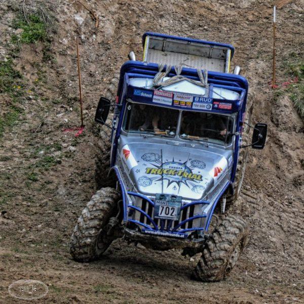 Championnat d'Europe Trial Camion à Thiembronne 2