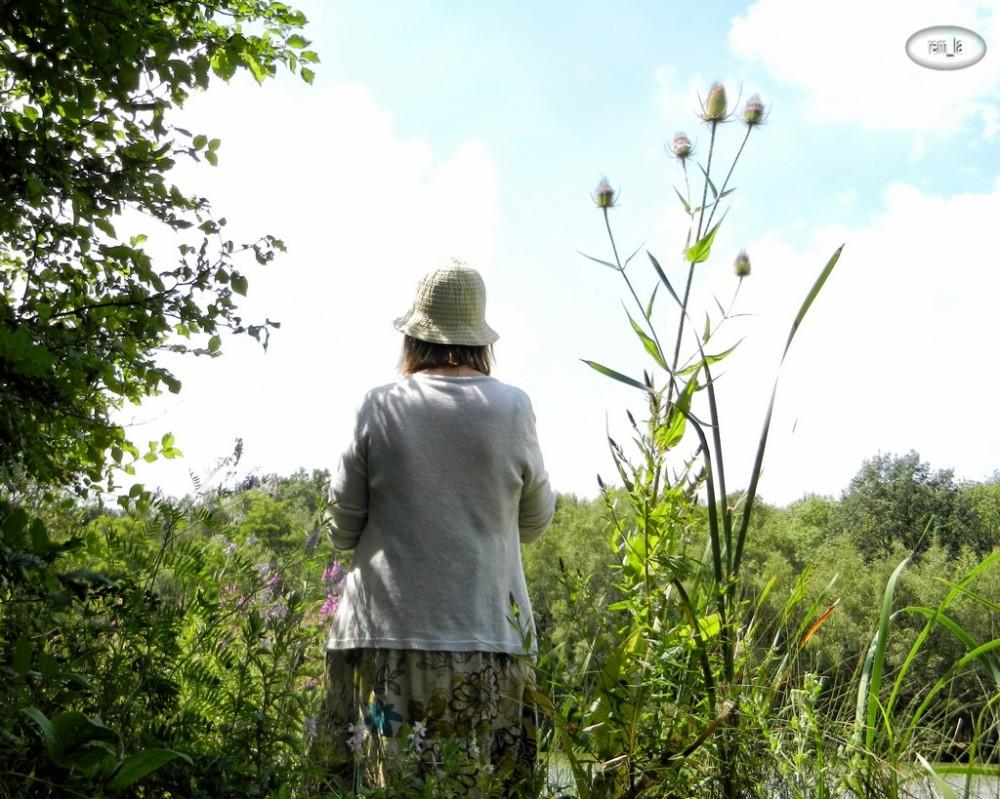 campagne,herbe,Elle