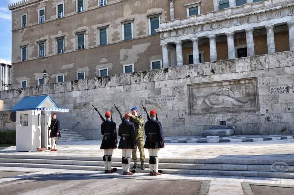 Relève de la garde place Syndagma 6