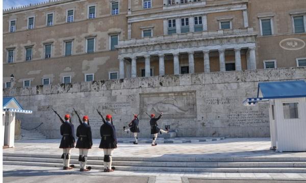 Relève de la garde place Syndagma 7