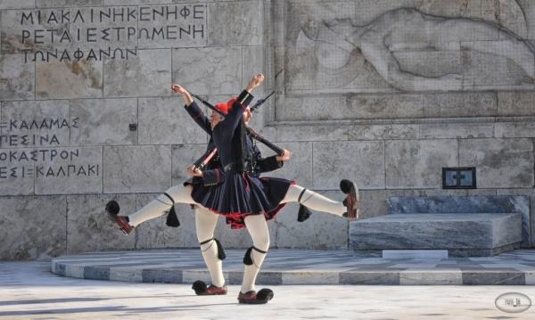Athenes, Grece,releve,garde