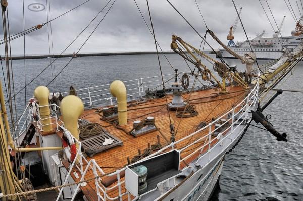 Sørlandet, trois mats Norvégien