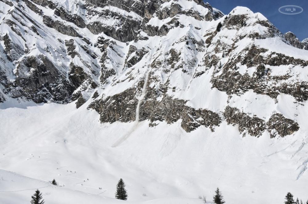 clusaz,montagne,neige