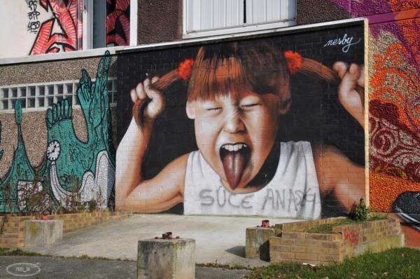 Street Art à la Cité Gaston Tunc   Melun 4