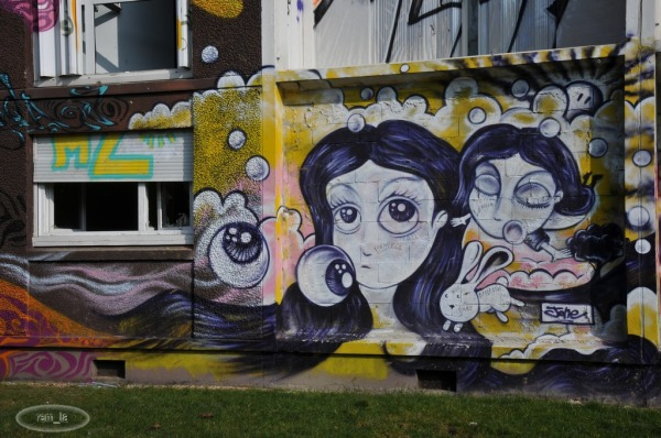 Street Art à la Cité Gaston Tunc   Melun 6