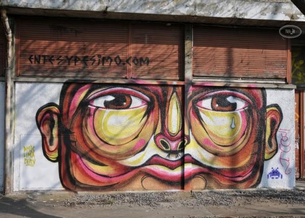 Street Art à la Cité Gaston Tunc   Melun 8