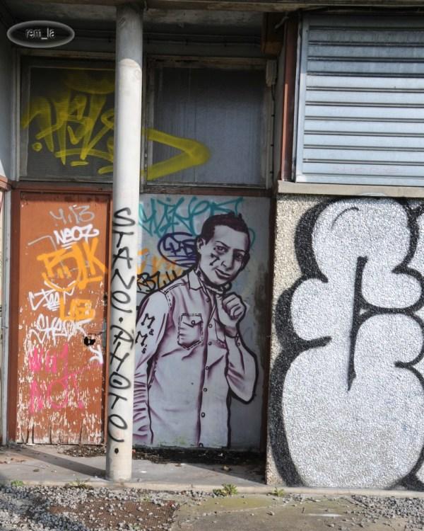 Street Art à la Cité Gaston Tunc   Melun 9