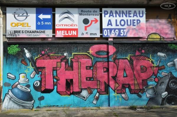 Street Art à la Cité Gaston Tunc   Melun 11