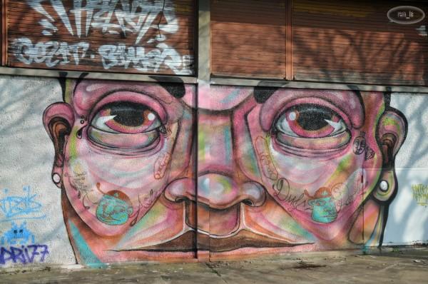 Street Art à la Cité Gaston Tunc   Melun 12