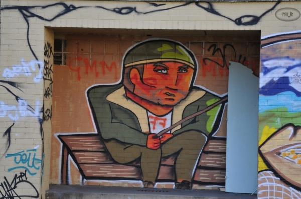 Street Art à la Cité Gaston Tunc   Melun 14