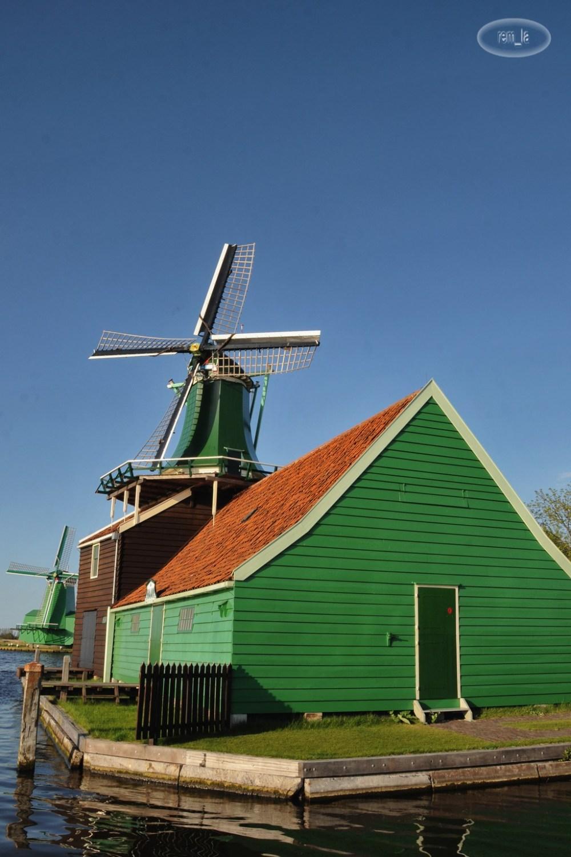 hollande,moulin,zaanse-shans,paysage
