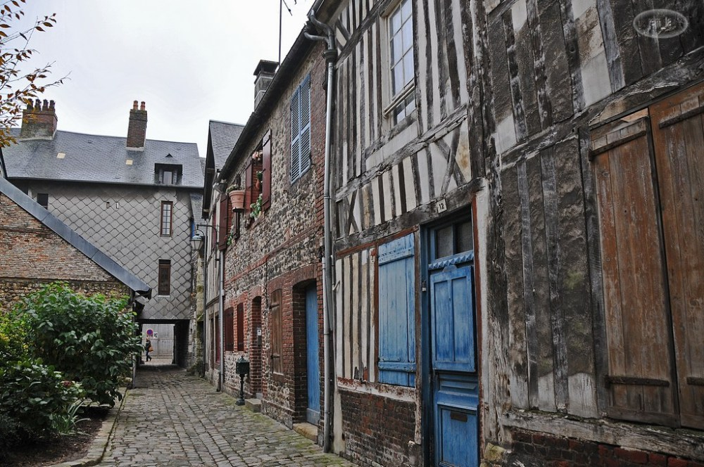 Honfleur,normandie,port,ville