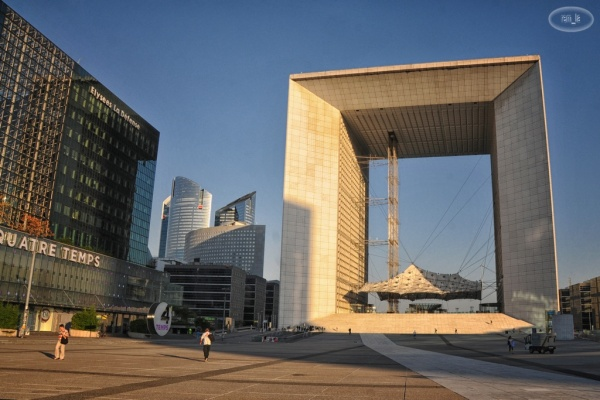 La Defense au petit matin   9