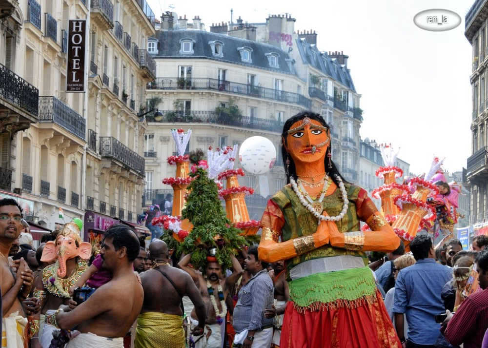 ganesh,paris,religion,fête