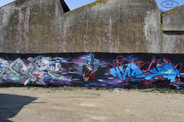Tag sur le port de Lorient 4