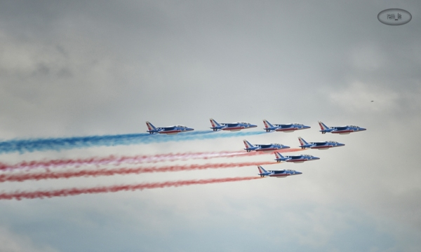 bourget,avion,salon,patrouille,france