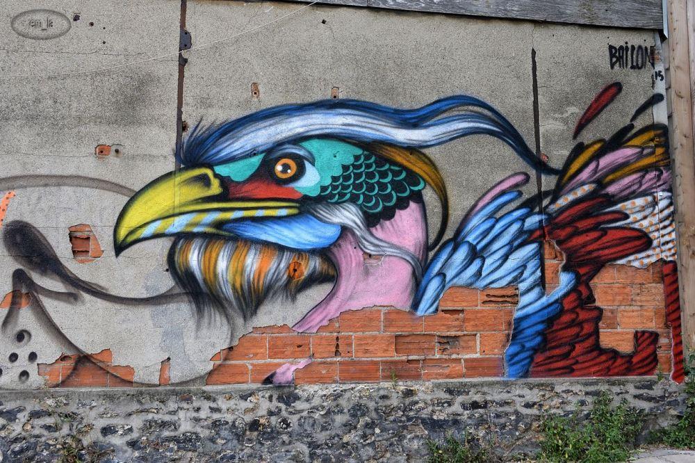 strreet,art,St Denis
