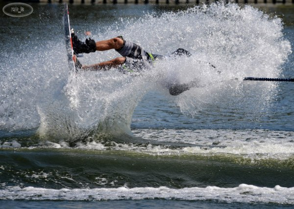 Championnat d'Europe de Ski Nautique à Choisy