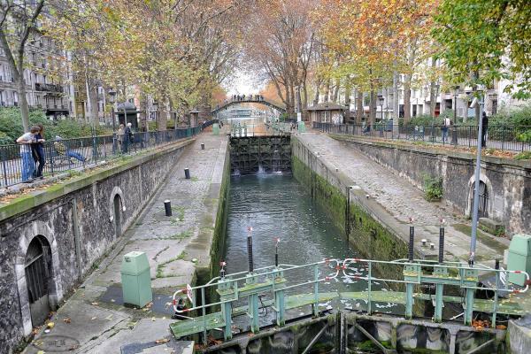 Le canal St Martin et ses abords