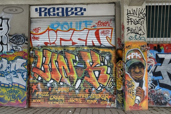 Street art du coté d'Austerlitz