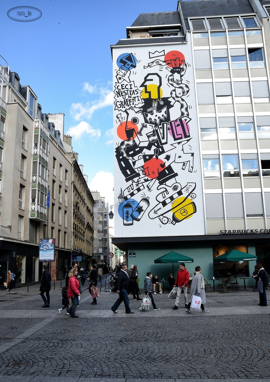 street,art,beaubourg,paris