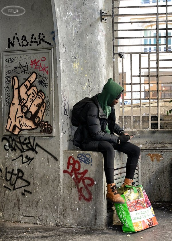Street Art à Beaubourg