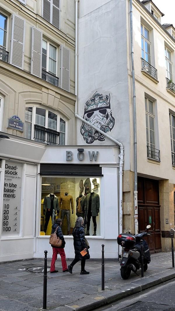 Street Art du coté Beaubourg