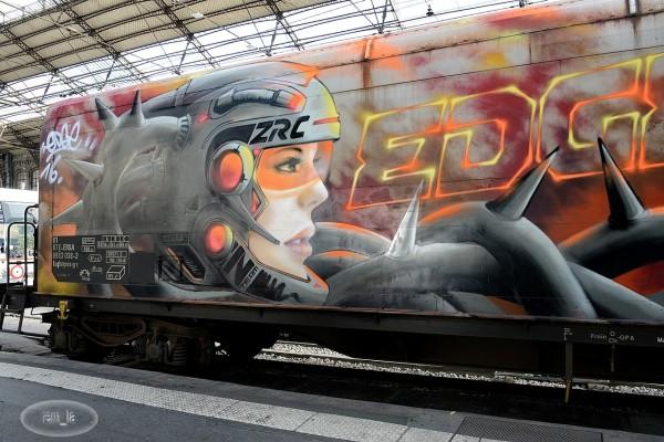 Un train à Austerlitz