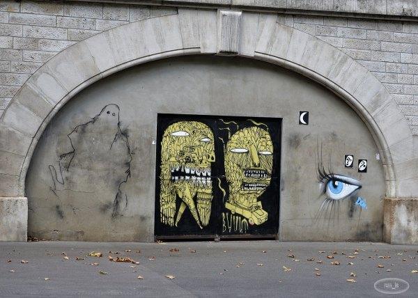 Street Art à Paris 13eme