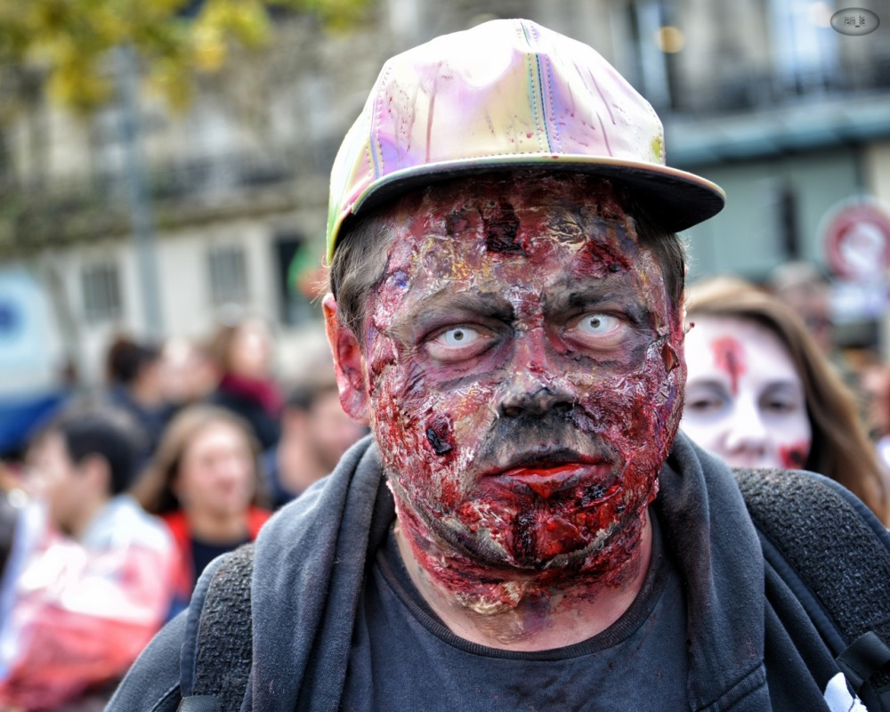 zombie,walk,paris