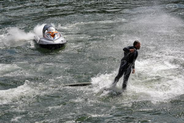 Flyboard à Epinay