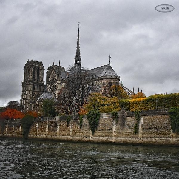 Bord de Seine à Paris