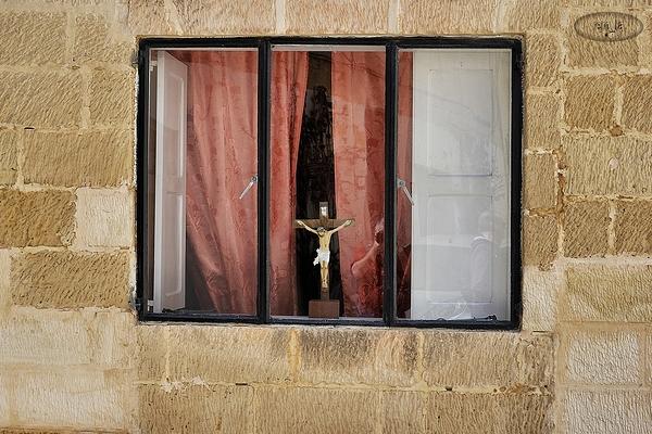 Fenêtree sur rue àmaltes