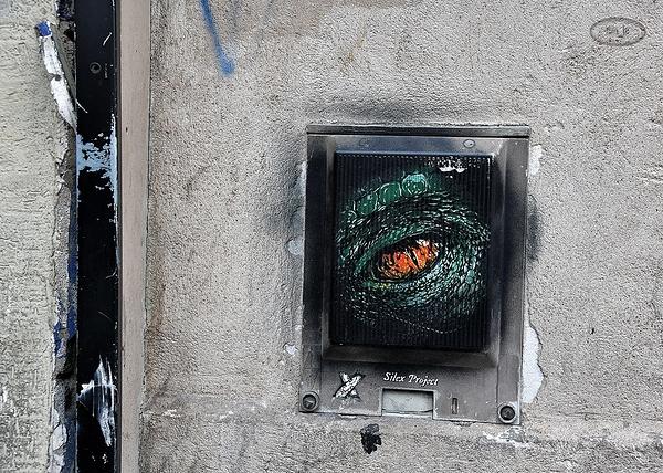 Street Art dans le 13emme arrondissement de Paris