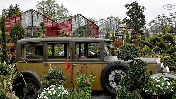 Expomobile à la jardinerie Laplace de Chelles