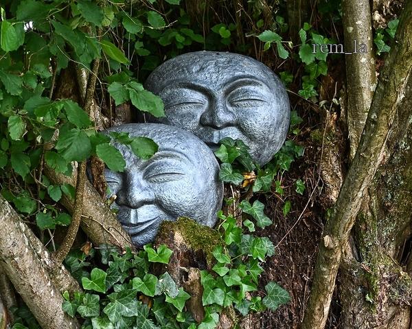 Verdelot,jardin,art,statue