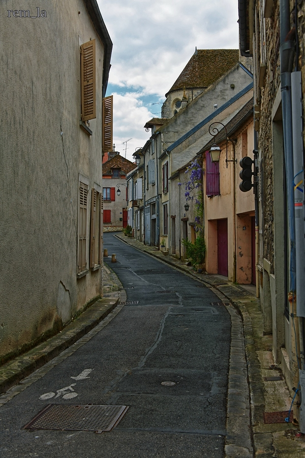 moret,loing,village