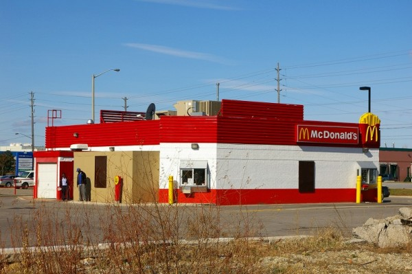 Back of McDonalds