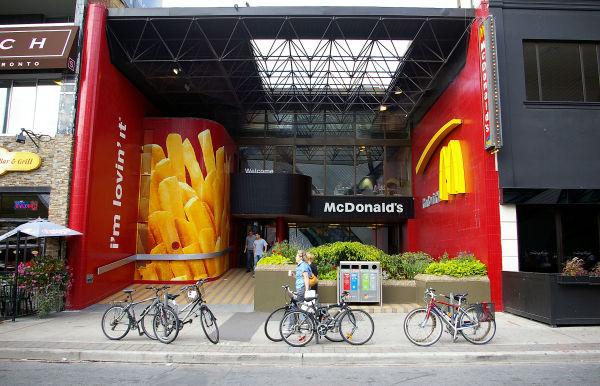 Six Bikes & Large Fries