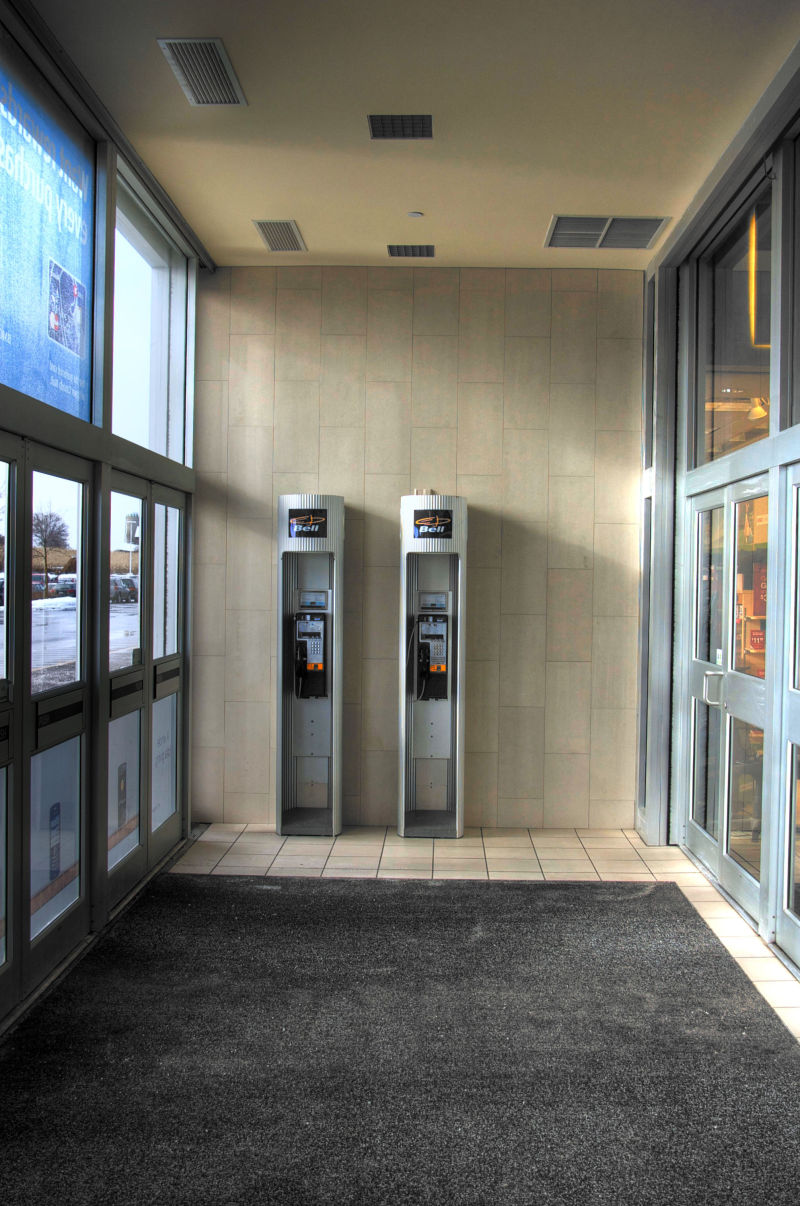Phonebooths for the slim