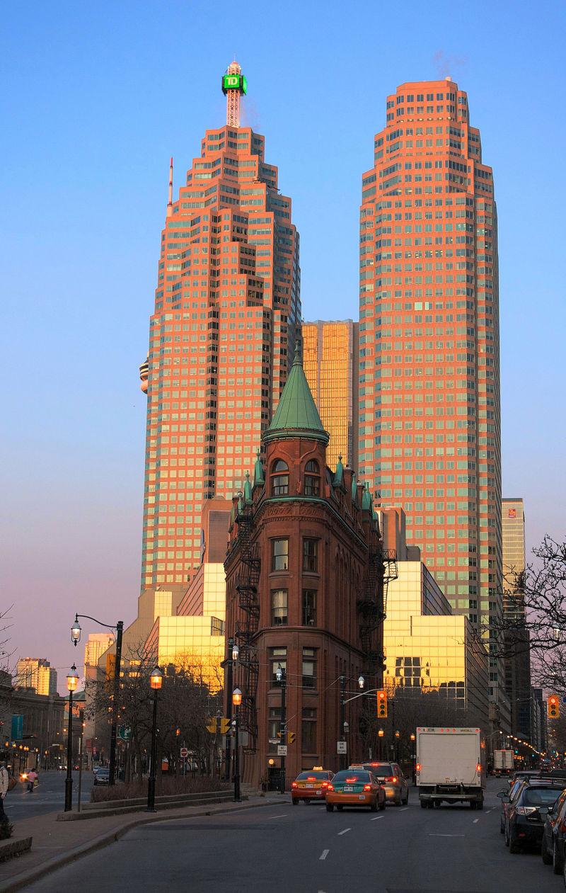 Toronto Nostalgia - Flat Iron Building