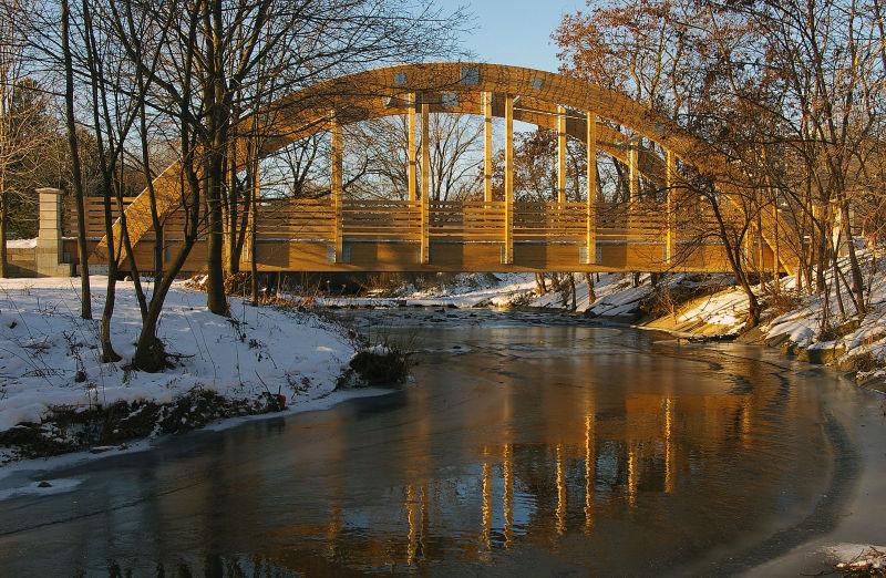 New Wooden Bridge