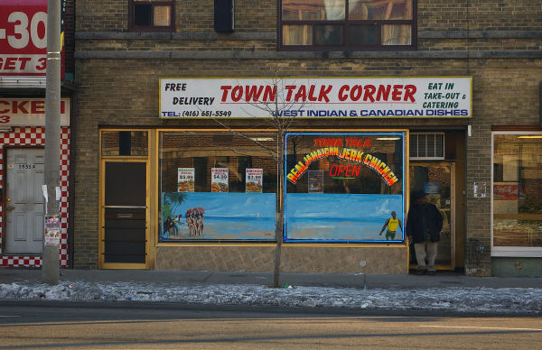 Storefront - Town Talk