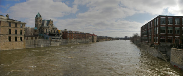 Cambridge from the bridge