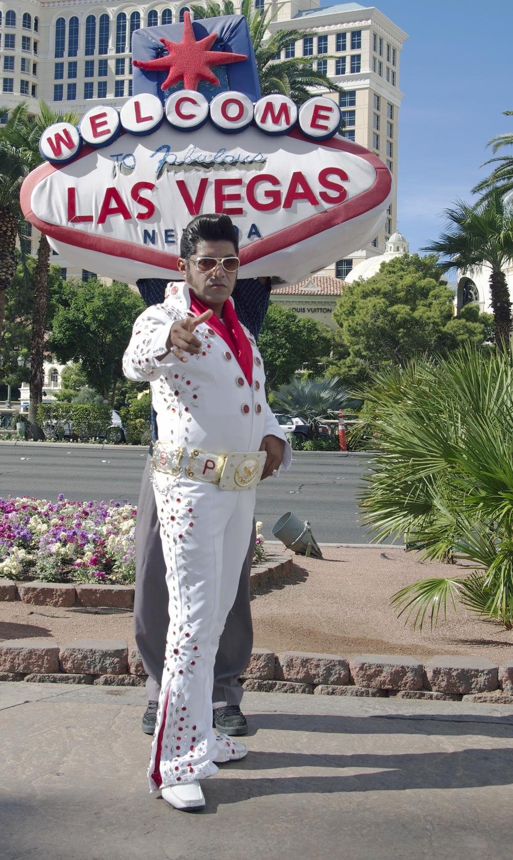 Las Vegas - Street Elvis