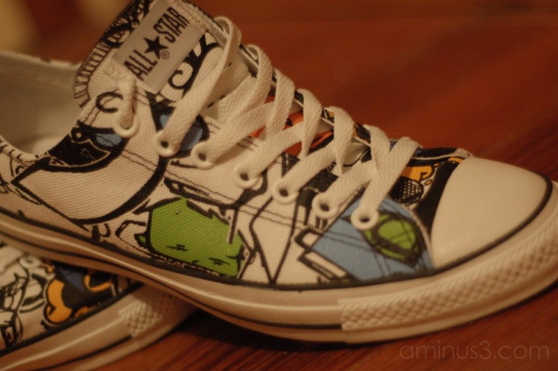 My Converse All Star CT STICKER OX