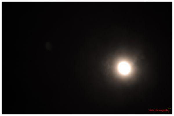 A Full Moon...