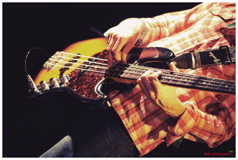 Faceless Bassist...