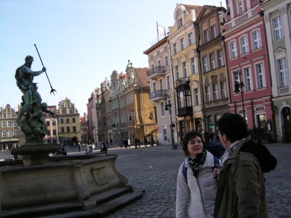 Plaza de Poznan, Polonia.